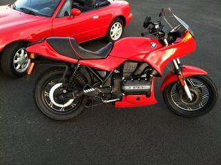 1990 Marakesch Red K75s photo