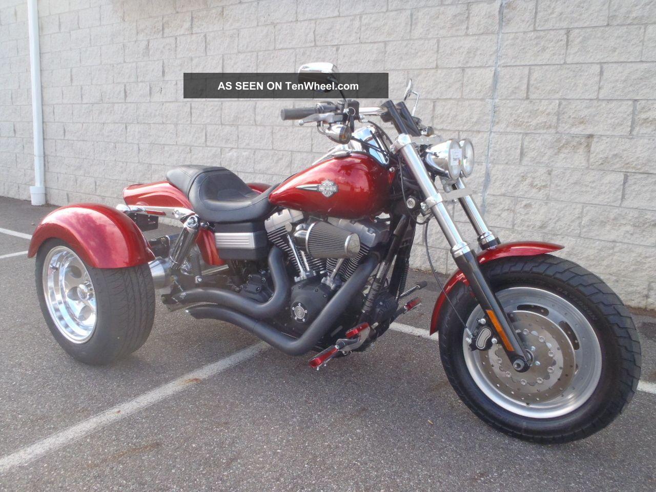 2008 Harley Davidson Fxdf Dyna Fatbob Frankenstien Trike