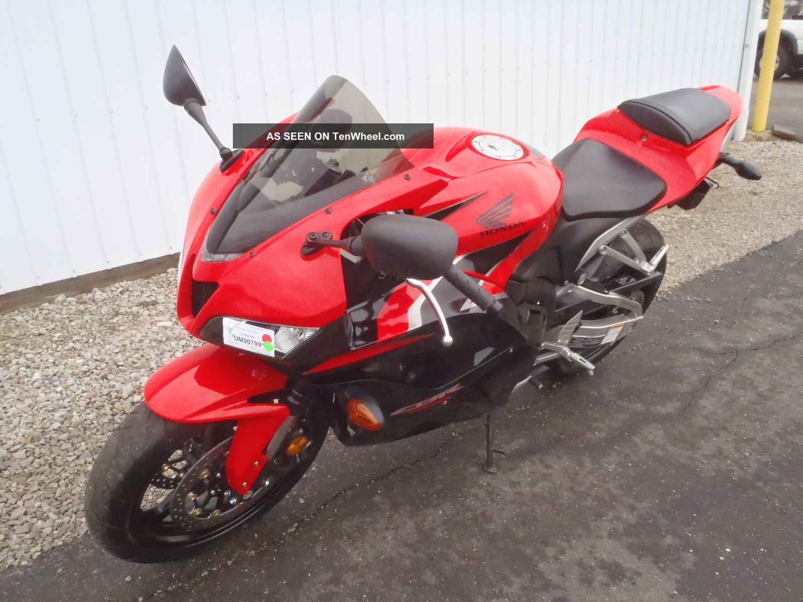 2011 Honda Cbr600rr Um90799 C S