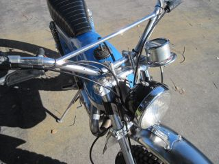 1974 Bultaco 250 Alpina Model 115 photo