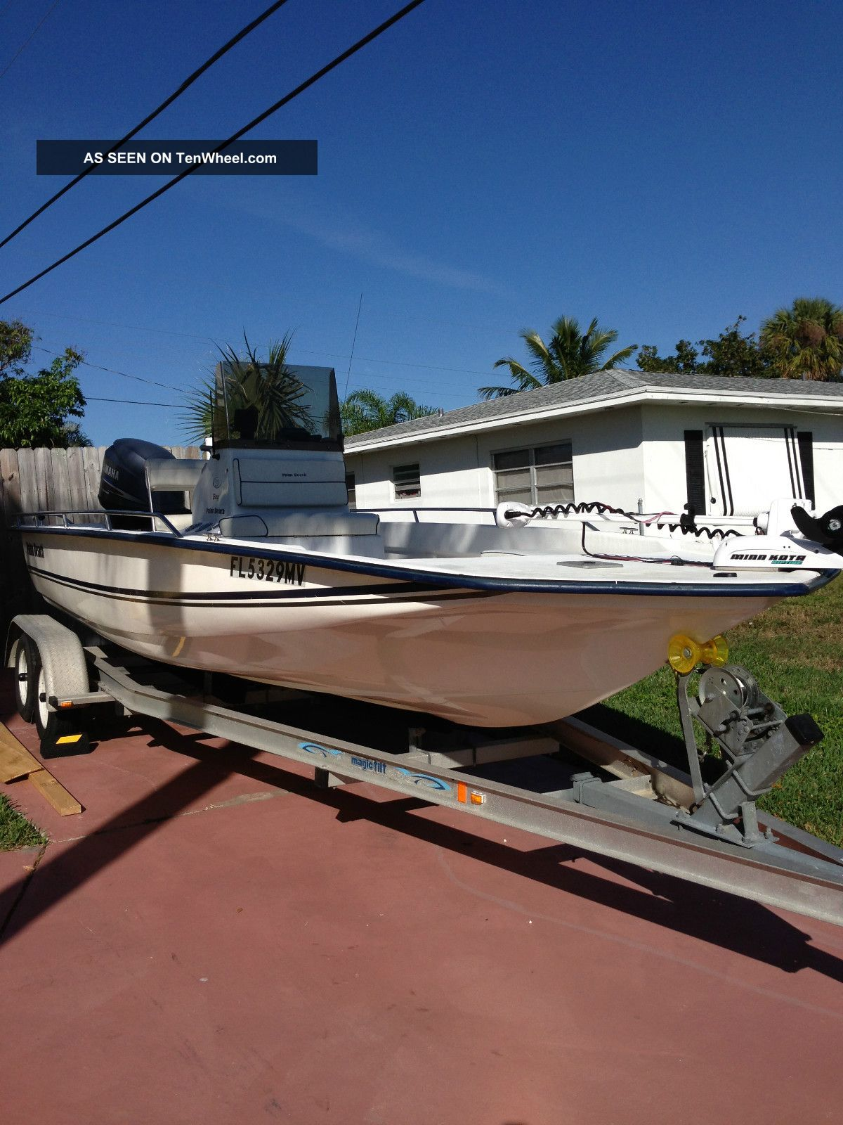 Palm Bay Ford >> 2005 Palm Beach 215 Bay Boat