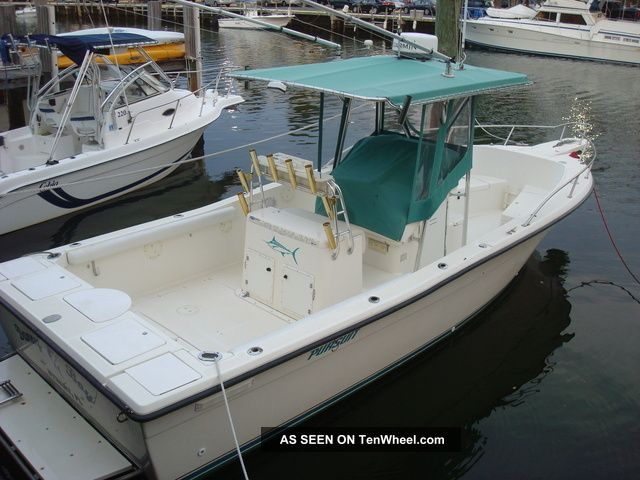 1995 Pursuit 2600 Offshore Saltwater Fishing photo