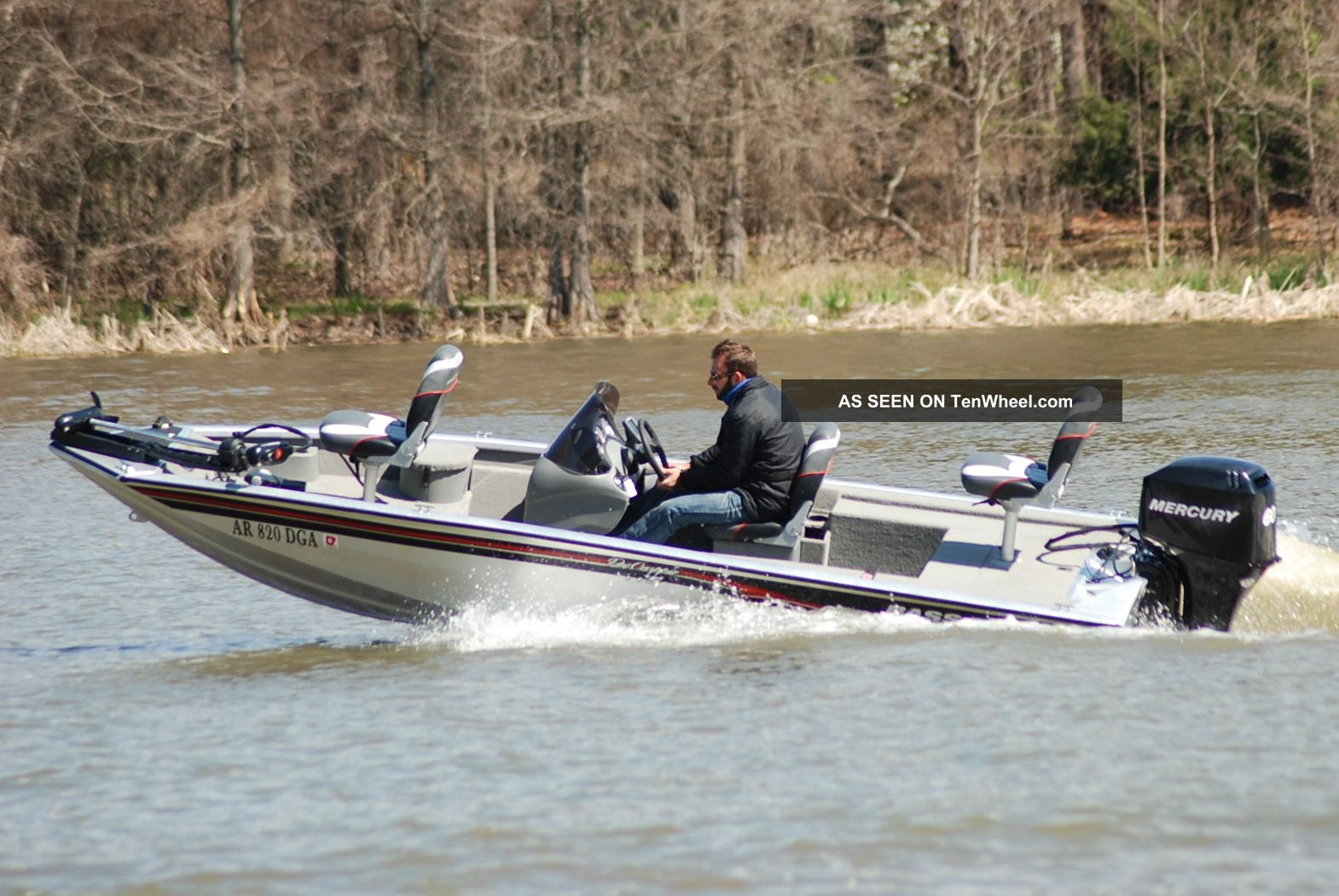 2007 Bass Tracker Pro Crappie 175