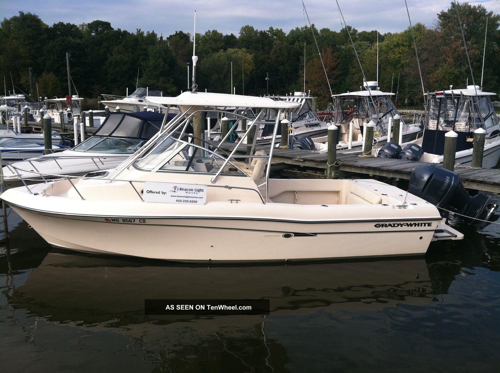 2012 Grady White 232 Gulfstream Offshore Saltwater Fishing photo