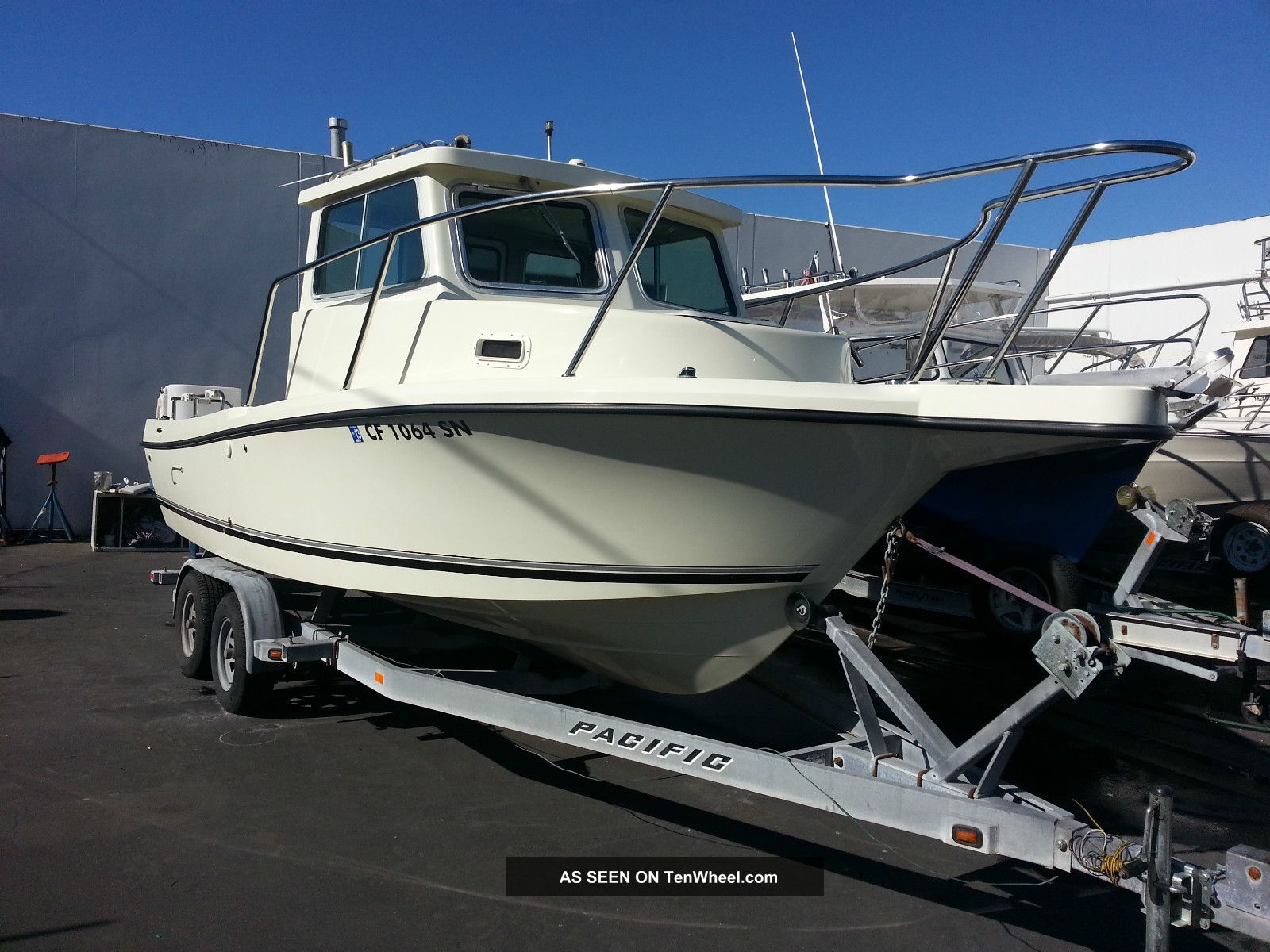 2007 Defiance 220nt Offshore Saltwater Fishing photo