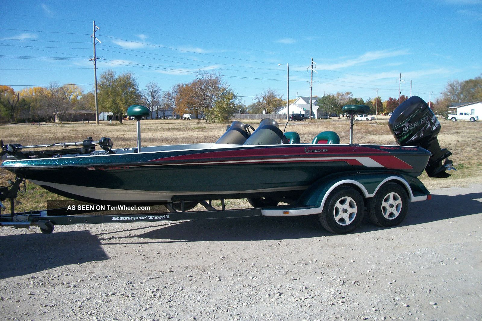 2000 Ranger Comanche Bass Fishing Boats photo