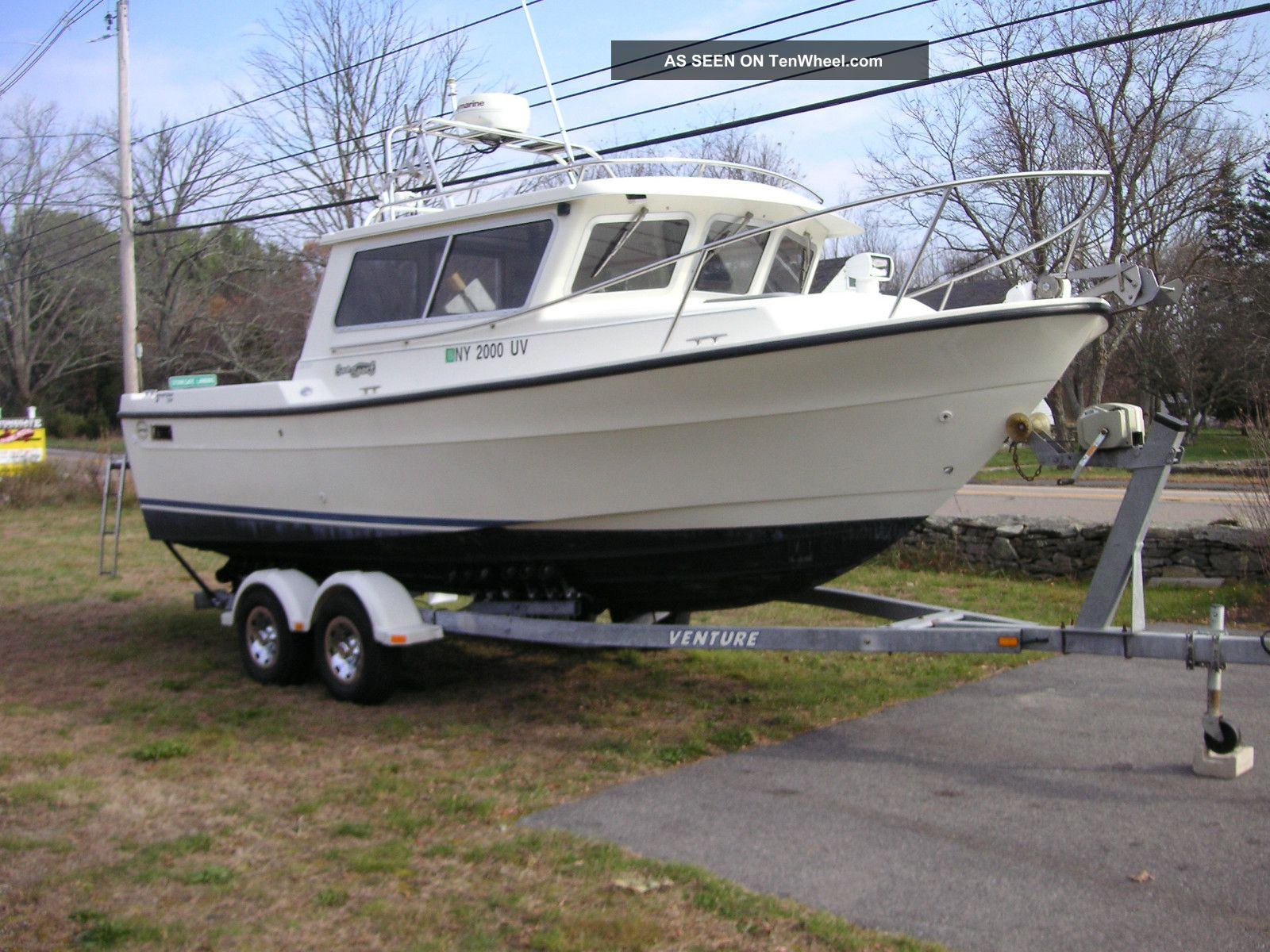 2000 seasport 2200 pilot house limited for Pilot house fishing boats
