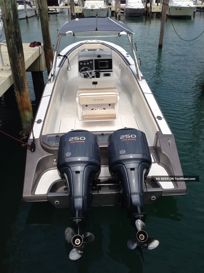 2013 Deep Waters 36 ' Center Console Offshore Saltwater Fishing photo