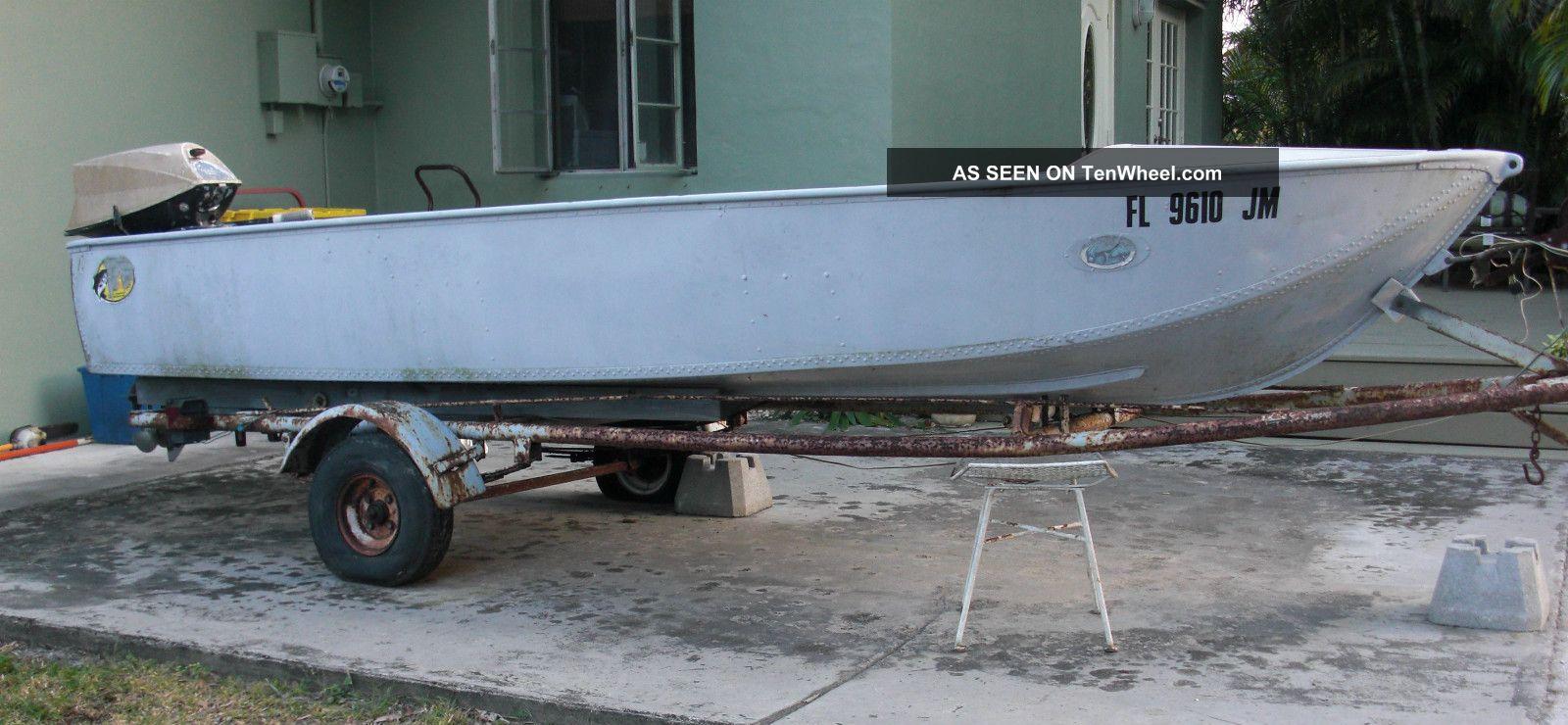 Orlando Clipper Aluminum Boat
