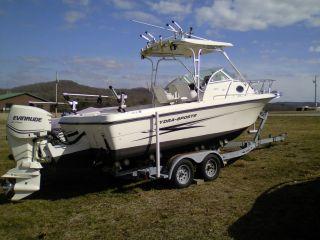 2004 Hydra - Sports 230 Wa Hardtop Cuddy Cabin Fishing Boat photo