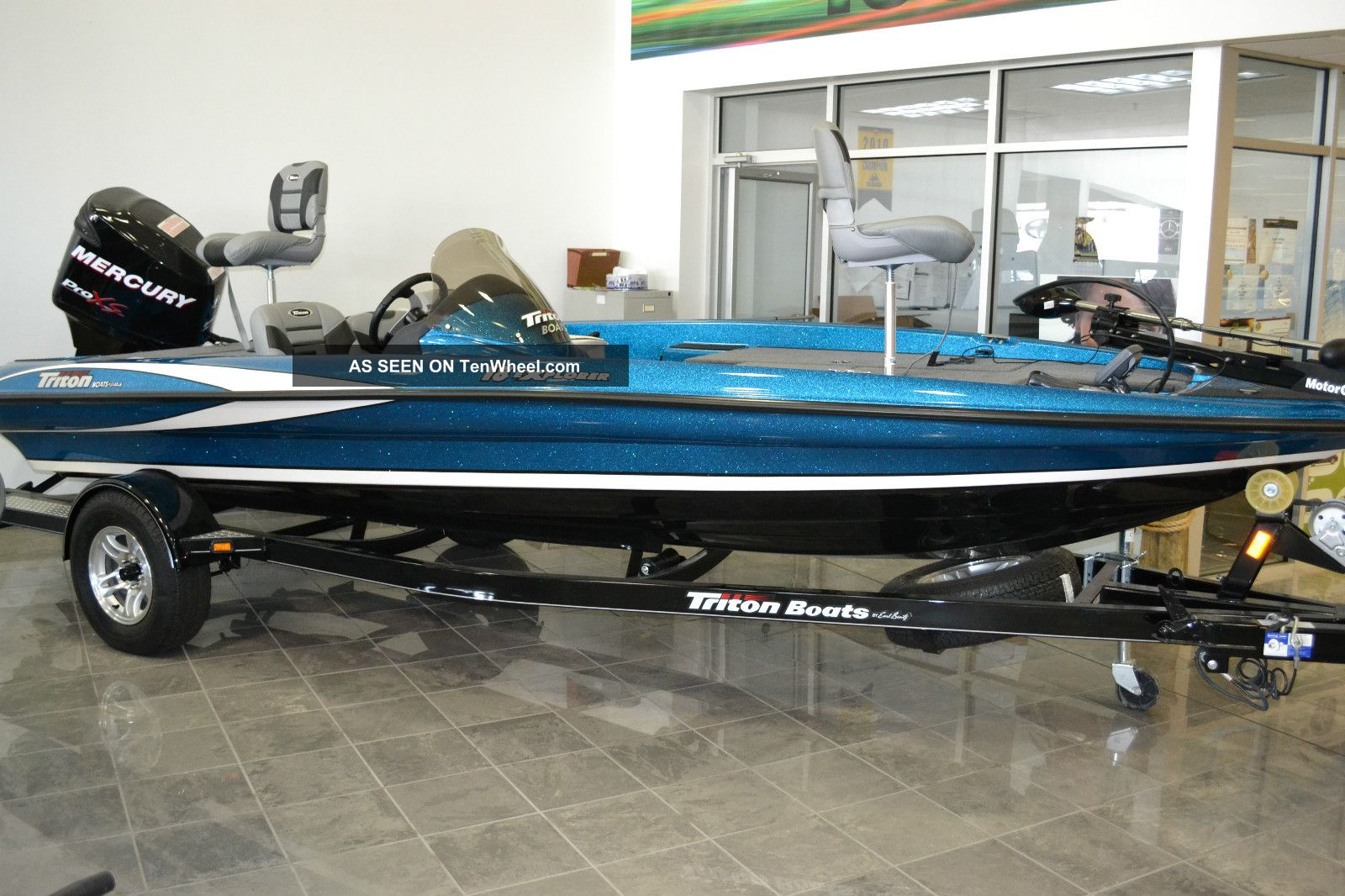 2012 Triton Explorer Bass Fishing Boats photo