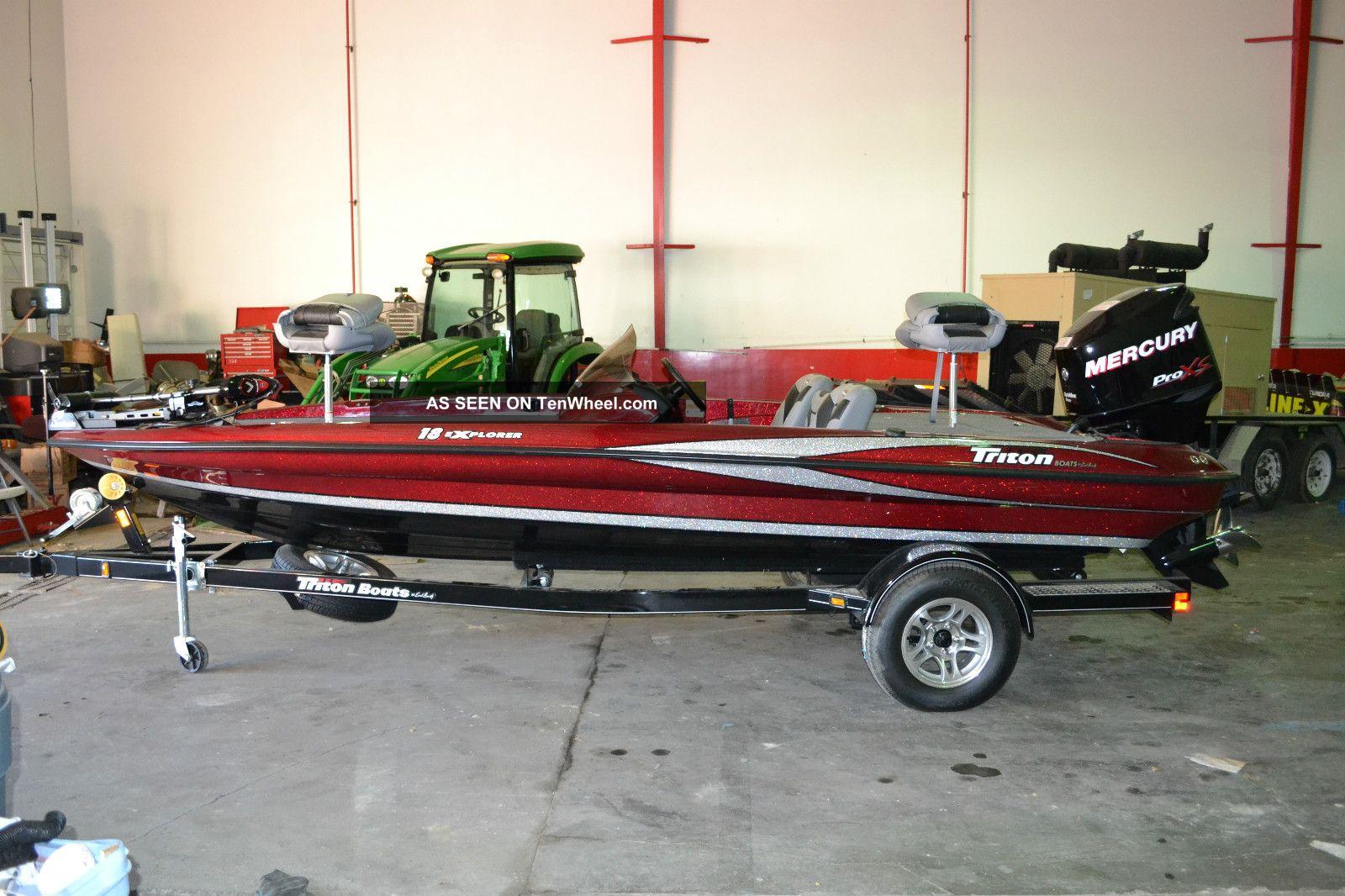2012 Triton Explorer Bass Fishing Boats photo