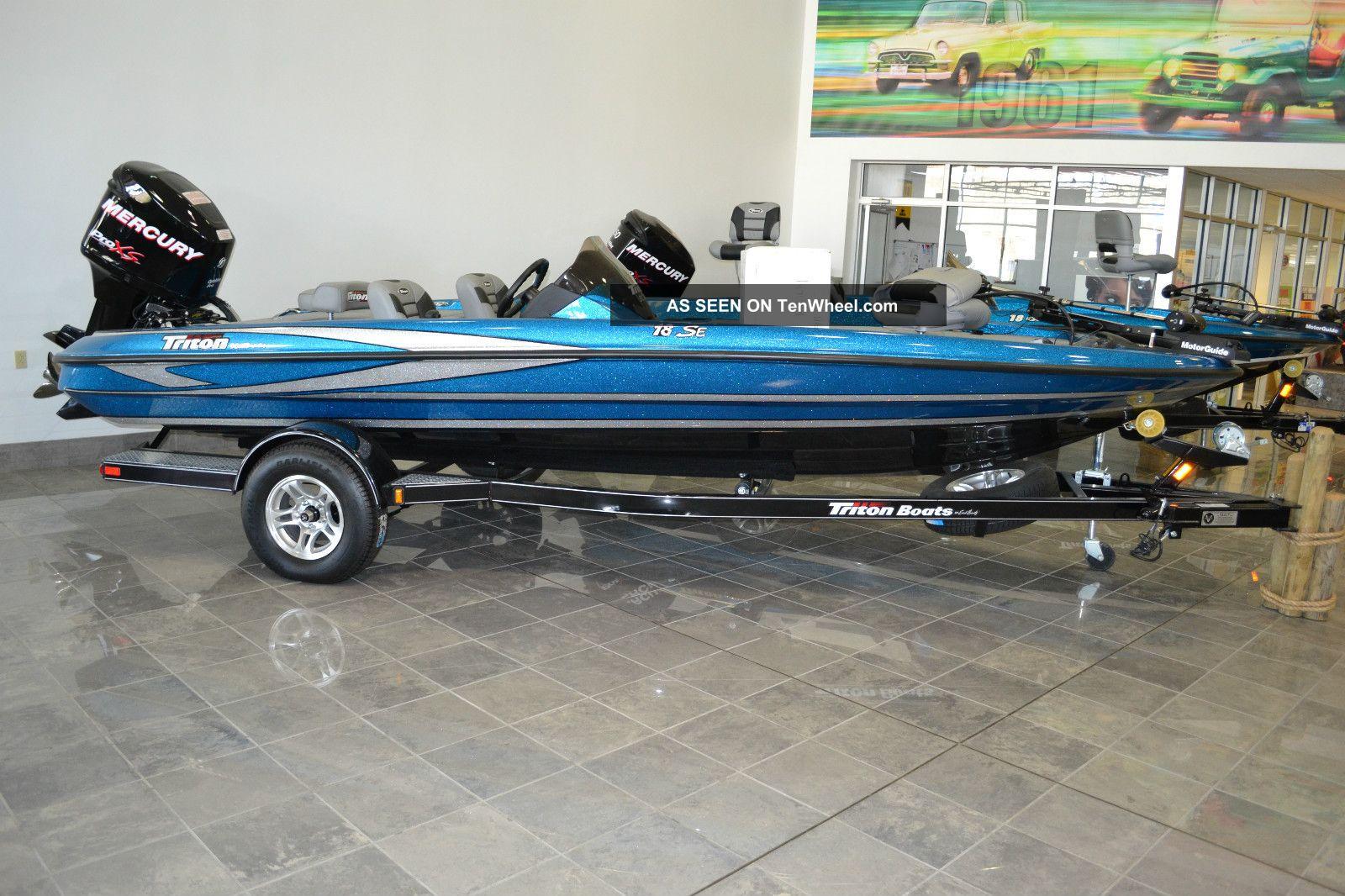 2012 Triton Se Bass Fishing Boats photo