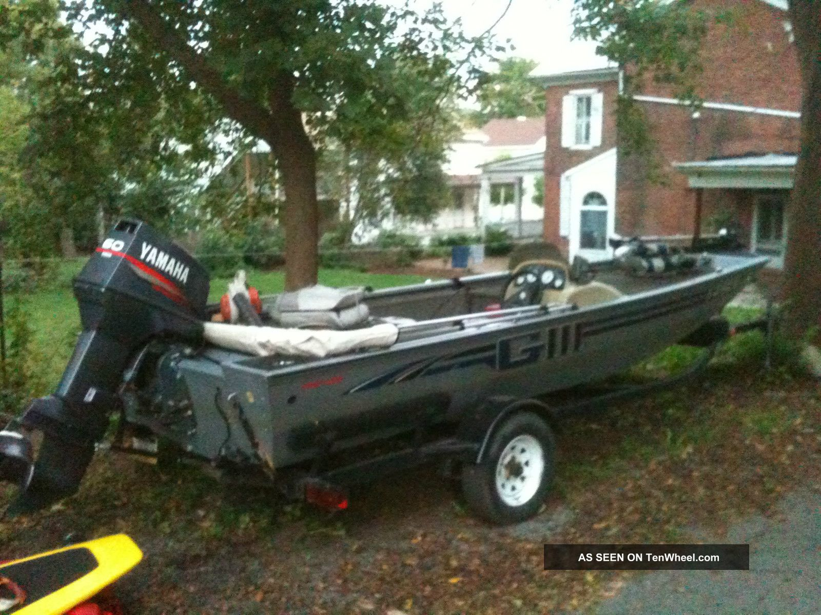 1999 G3 185 Pro Bass Fishing Boats photo