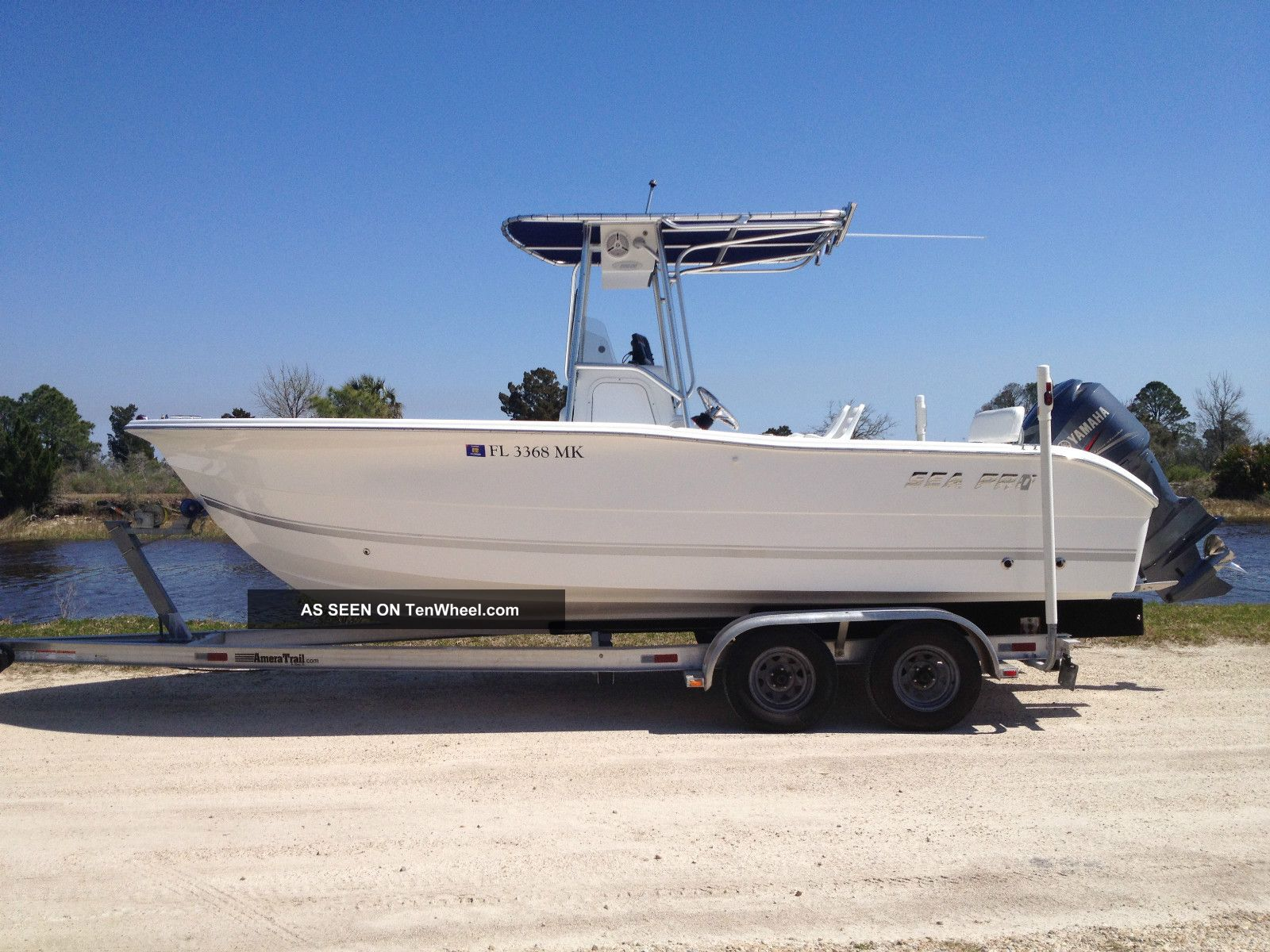 2004 Sea Pro 220 Cc Inshore Saltwater Fishing photo