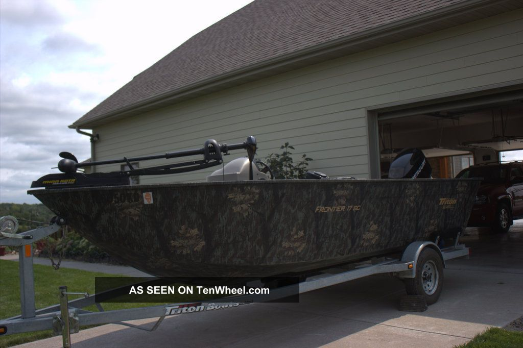 2007 Triton Frontier 17sc Other Freshwater Fishing photo