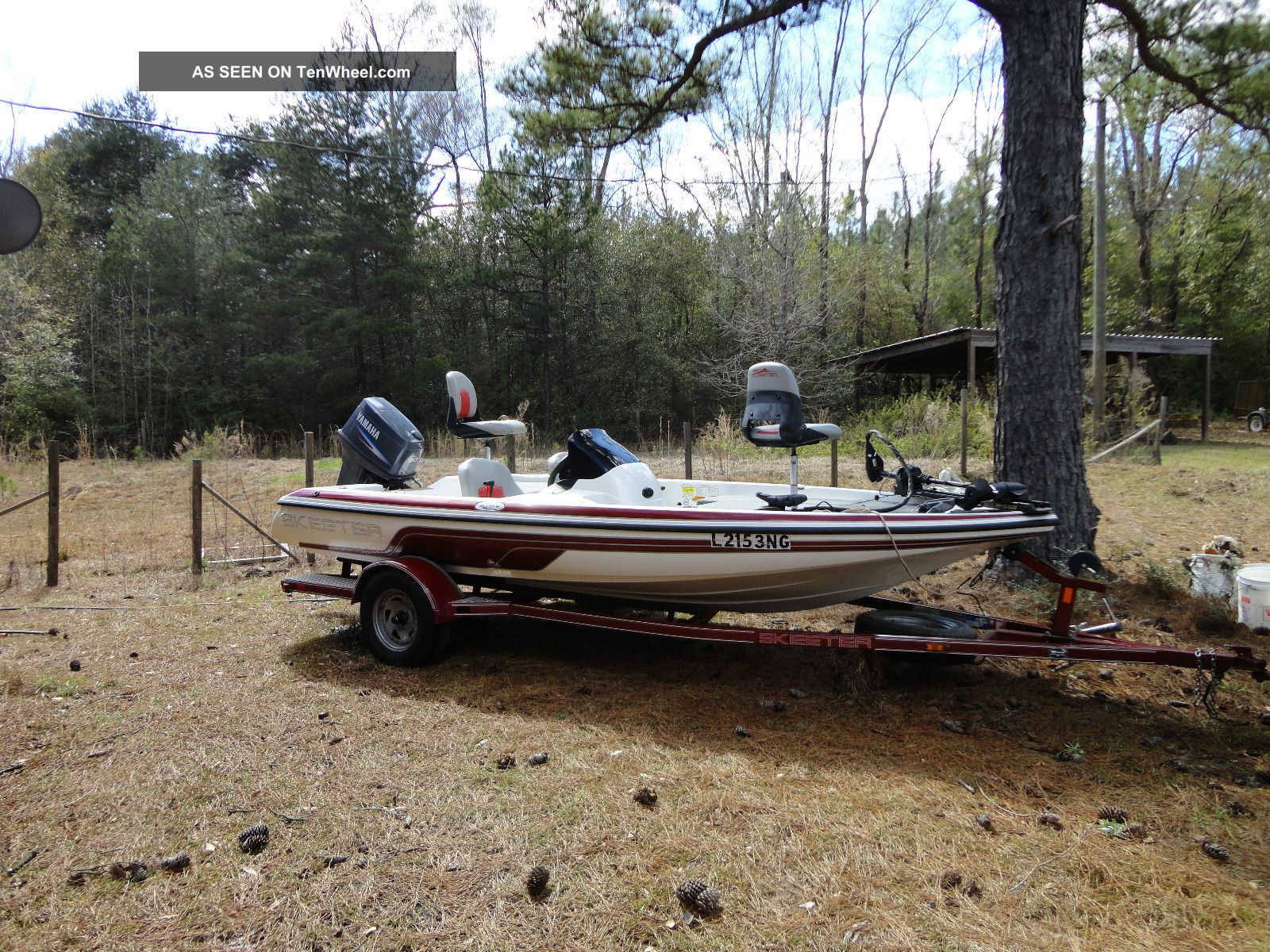 2006 Skeeter Sx 170 Bass Fishing Boats photo