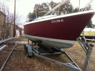 1976 O ' Day 25 Ft Sloop photo