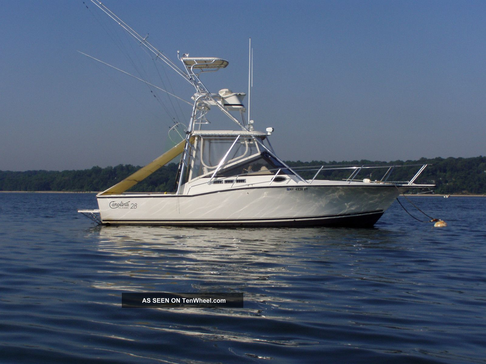 2000 Carolina Classic 28 With Tower Offshore Saltwater Fishing photo