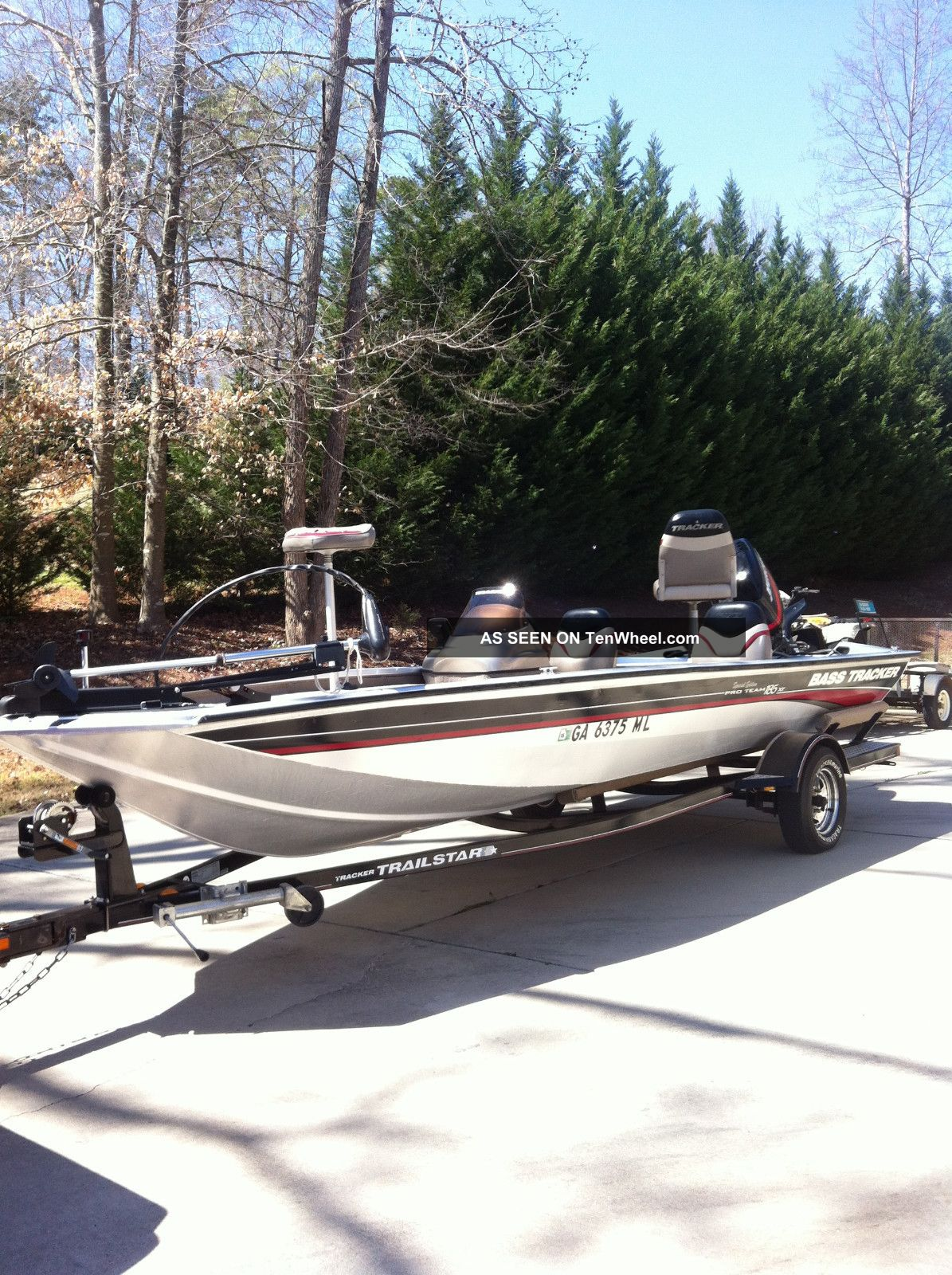 2003 bass tracker pro team 185 for Bass pro fishing boats