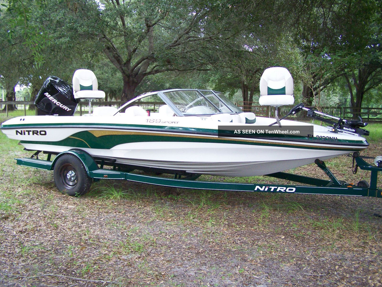 2006 nitro fish ski for Fish and ski boat