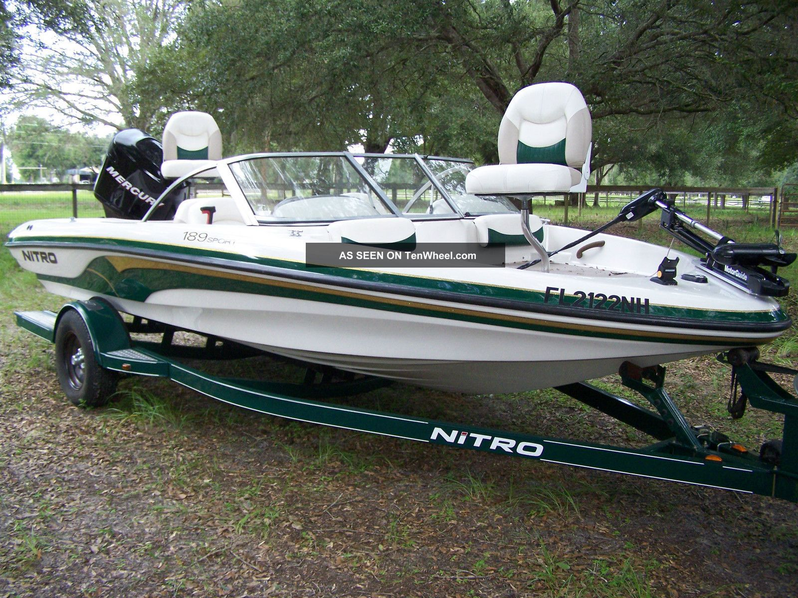 2006 nitro fish ski for Bass fishing boat