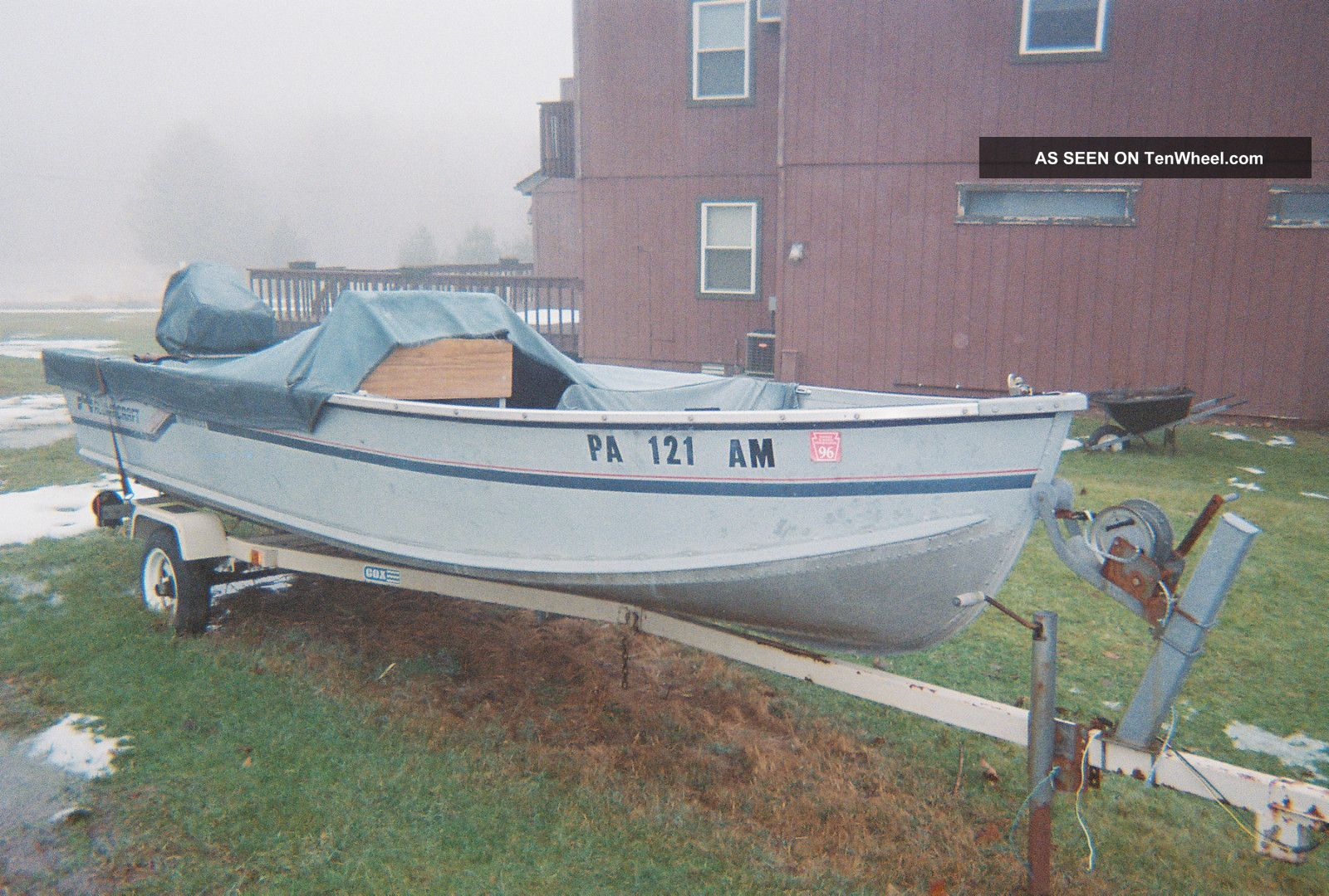 1987 Alumacraft Lunker V16 Dlx Other Freshwater Fishing photo