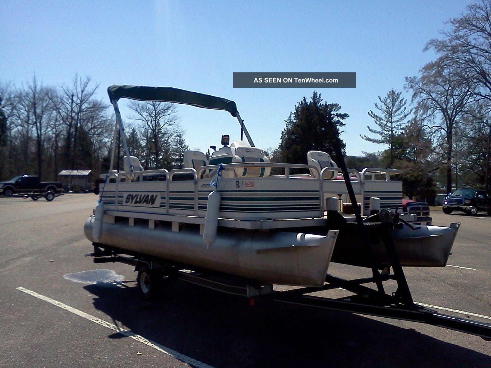 Sylvan pontoon boat lookup beforebuying for Mighty mite fishing rod