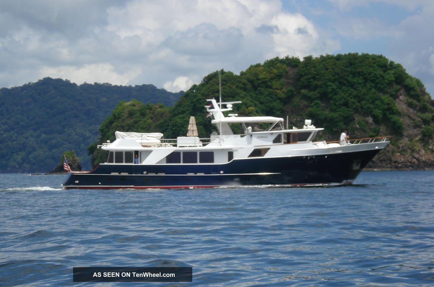2003 Defever Long Range Motor Yacht