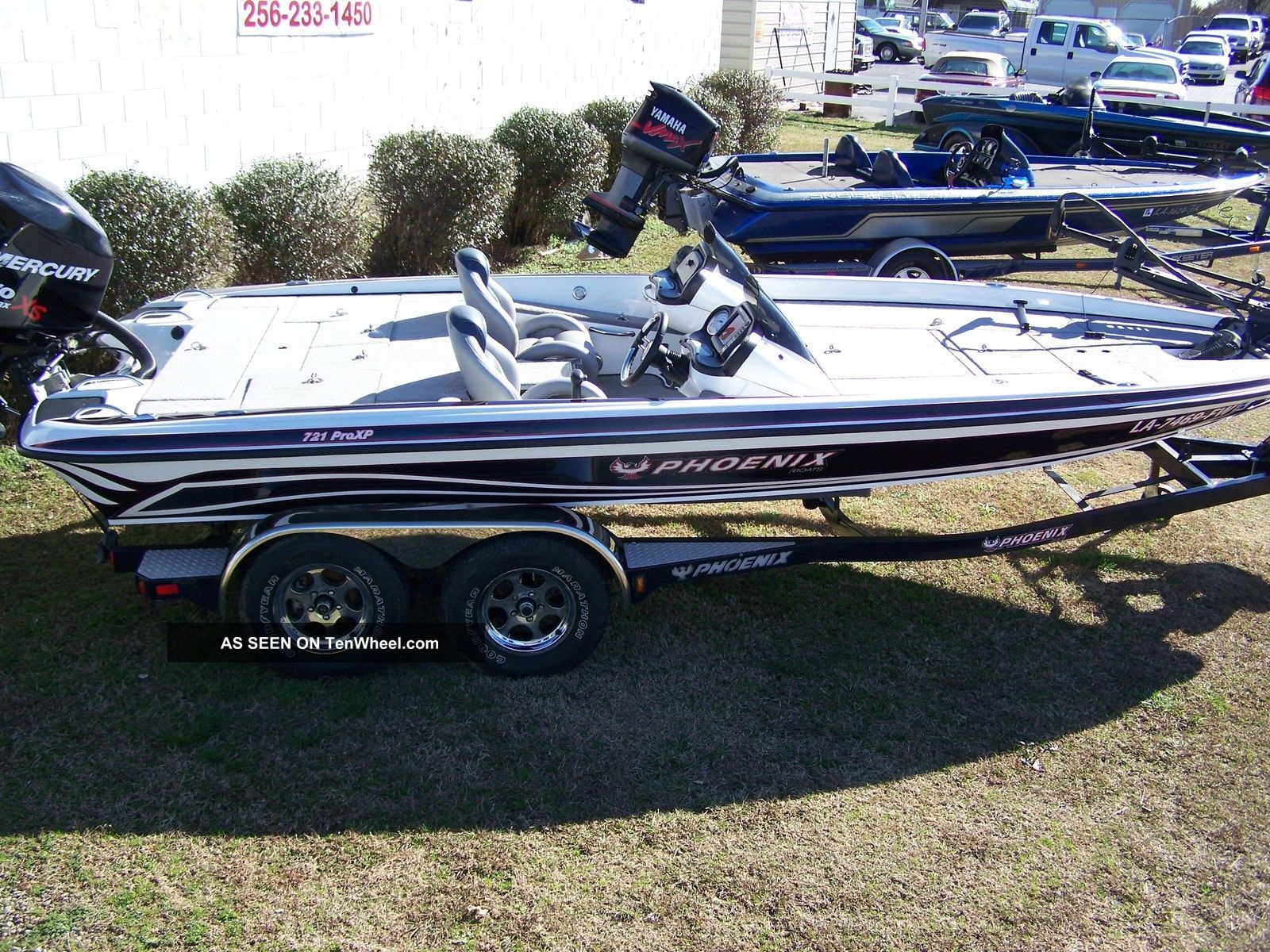 2009 Phoenix 721 Pro Xp Bass Fishing Boats photo