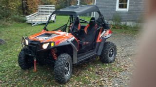 2012 Polaris Rzr S 800 Le photo