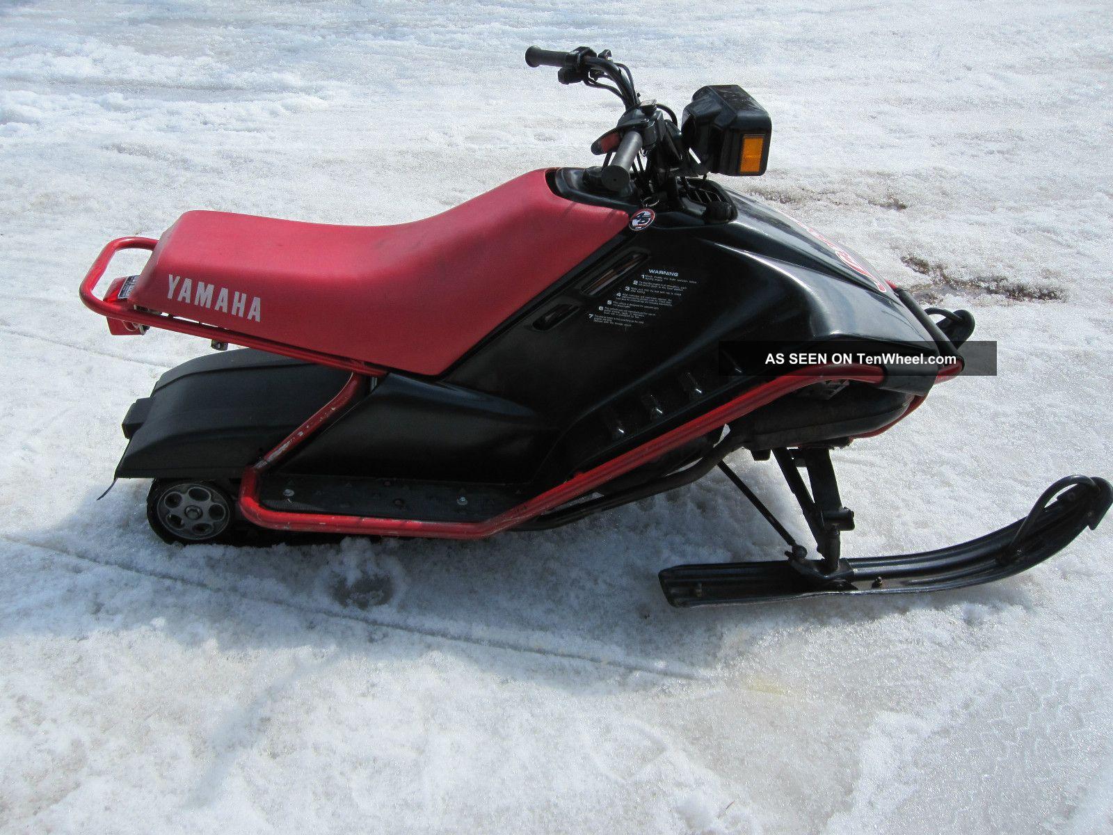 1989 yamaha sno scoot for Yamaha sno scoot
