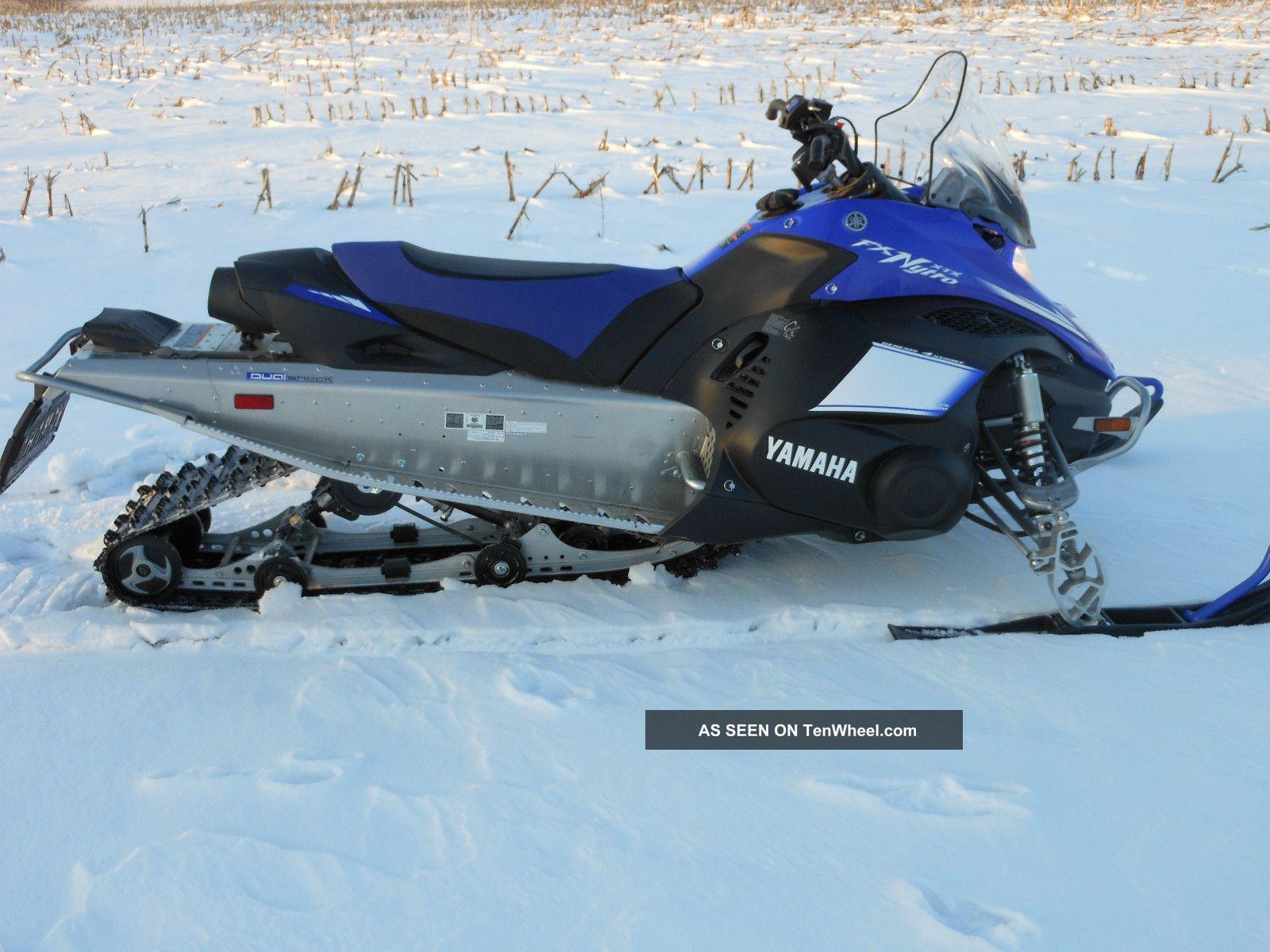 Yamaha Nytro Engine Specs