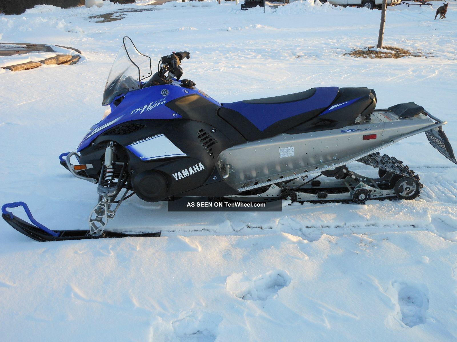 2009 Yamaha Nytro Xtx