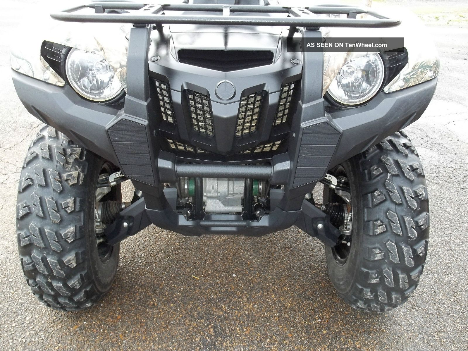 2012 Yamaha Grizzly