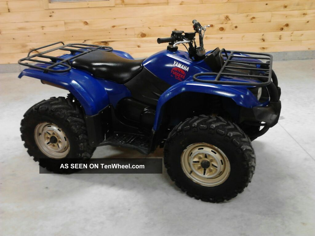 2007 yamaha yamaha grizzly atv 400 4x4 auto irs cheap for What year is my yamaha atv