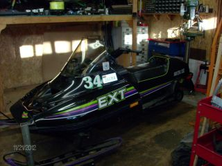1990 Arctic Cat Ext Special photo
