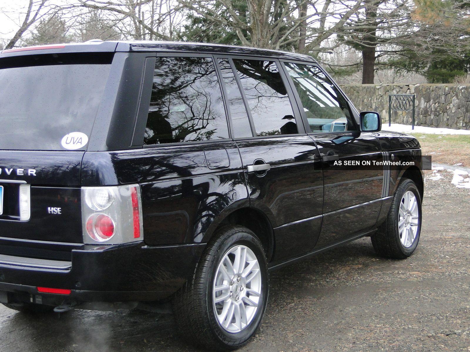 2009 range rover hse. Black Bedroom Furniture Sets. Home Design Ideas