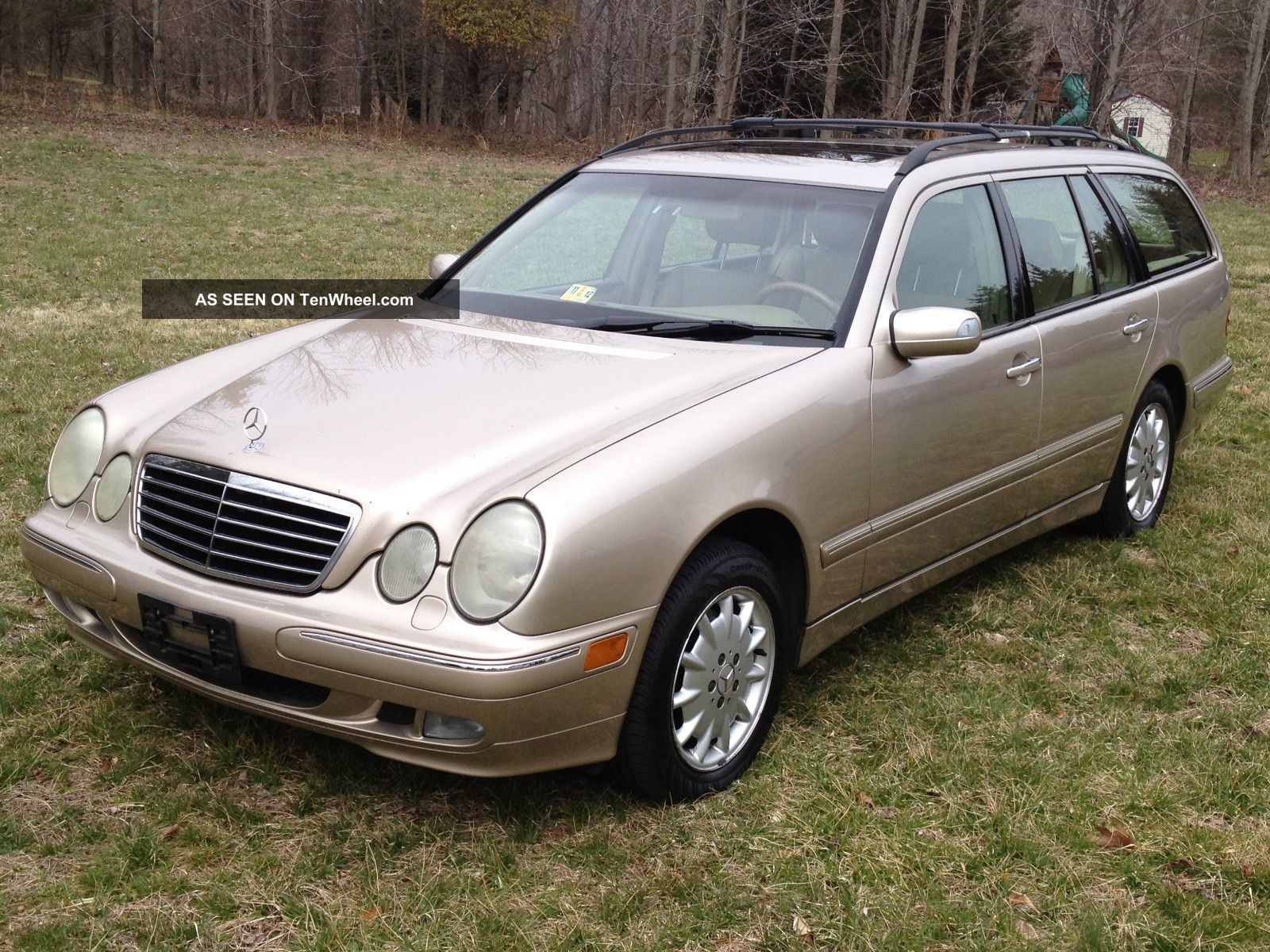2002 mercedes benz e320 4matic wagon for Mercedes benz wagons