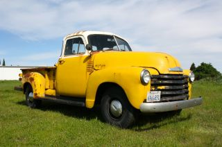 1953 Chevrolet Pickup - 5 Window - Long Bed - 1949 - 1950 - 1951 - 1952 - 1954 - 1955 - Hot Rod photo