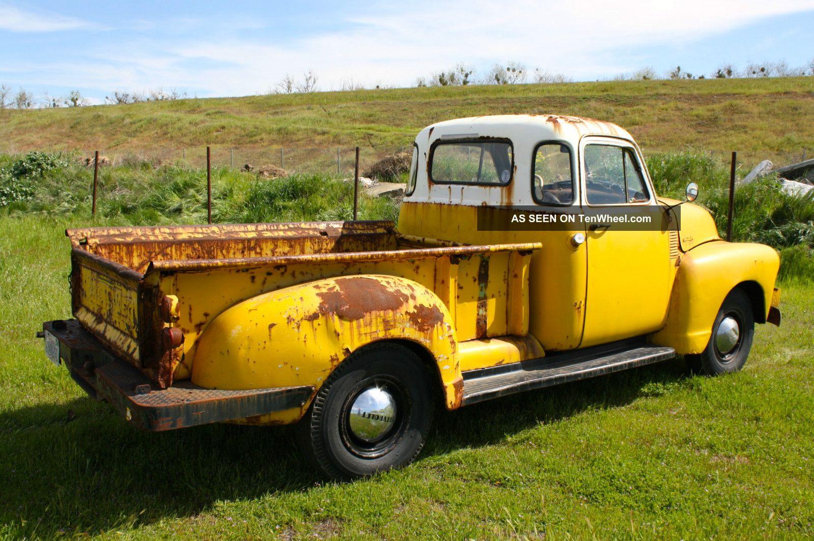 1953 Chevrolet Pickup 5 Window Long Bed 1949 1950 1951 1952 1954 1955 Hot Rod