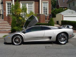 2001 Titanium Silver Lamborghini Diablo 6.  0 Chevy Engine photo