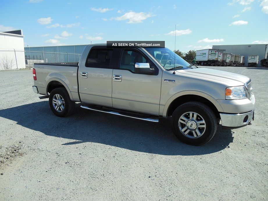 2006 ford f 150 lariat crew cab pickup 4 door 5 4l. Black Bedroom Furniture Sets. Home Design Ideas