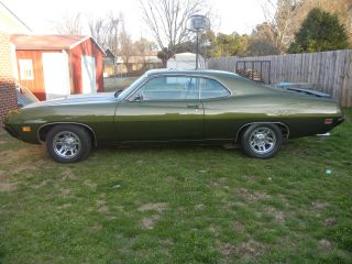 1970 Ford Torino 5.  8l Metallic Green Straight Body No Rust photo