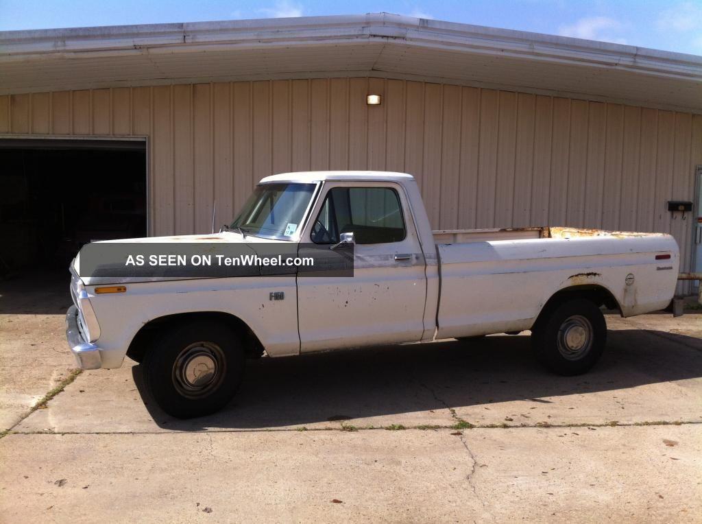 1975 Ford F 150 Pickup Truck John Deere Truck Project 390