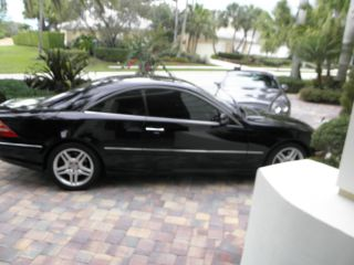 2001 Mercedes - Benz Cl55 Amg Base Coupe 2 - Door 5.  5l photo