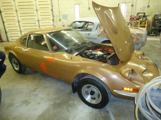 1972 Opel Gt A - L Barn Find 4 Speed Collector Car photo