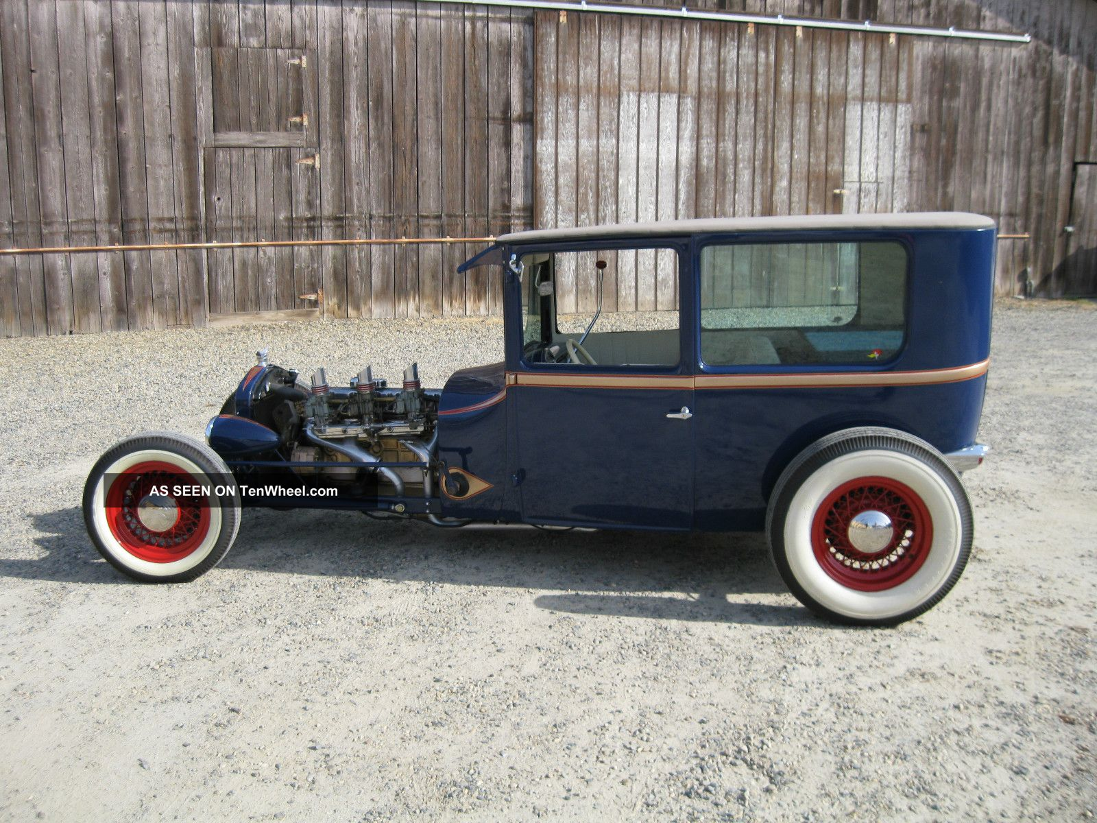 1926 Ford Tudor Sedan Traditional Hot Rod