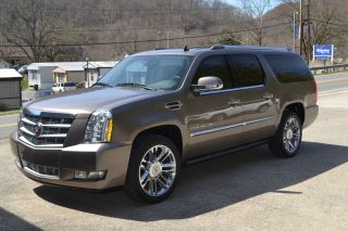 2011 Cadillac Escalade Esv Platinum Sport Utility 4 - Door 6.  2l photo