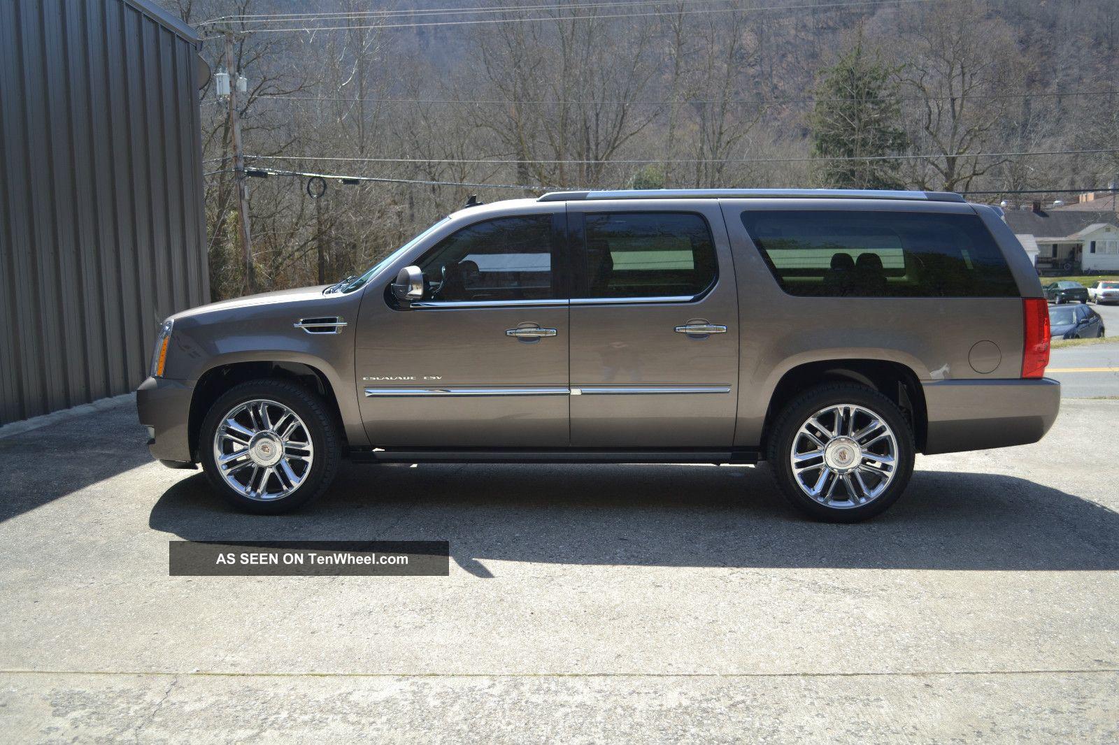 2011 Cadillac Escalade Esv Platinum Sport Utility 4 Door